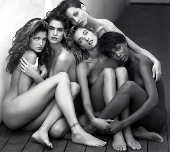 Herb-Ritts-supermodels