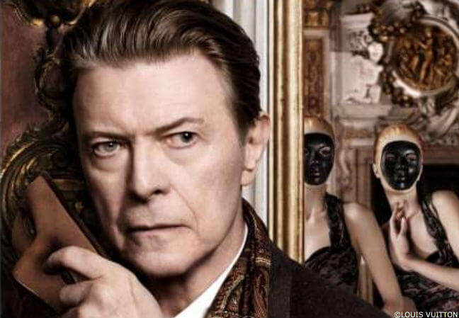 David Bowie pour Louis Vuitton