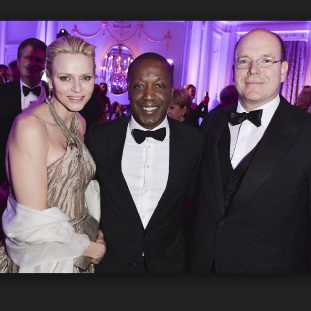 With The Royals of Monaco #throwbacktuesday