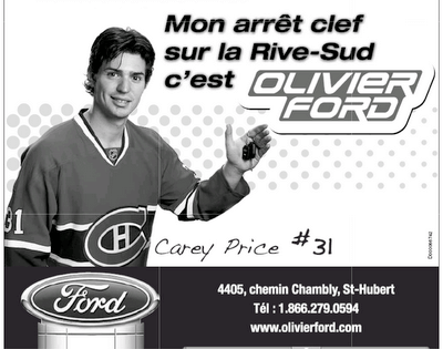 Shooting photo avec Carey Price et P.K Subban