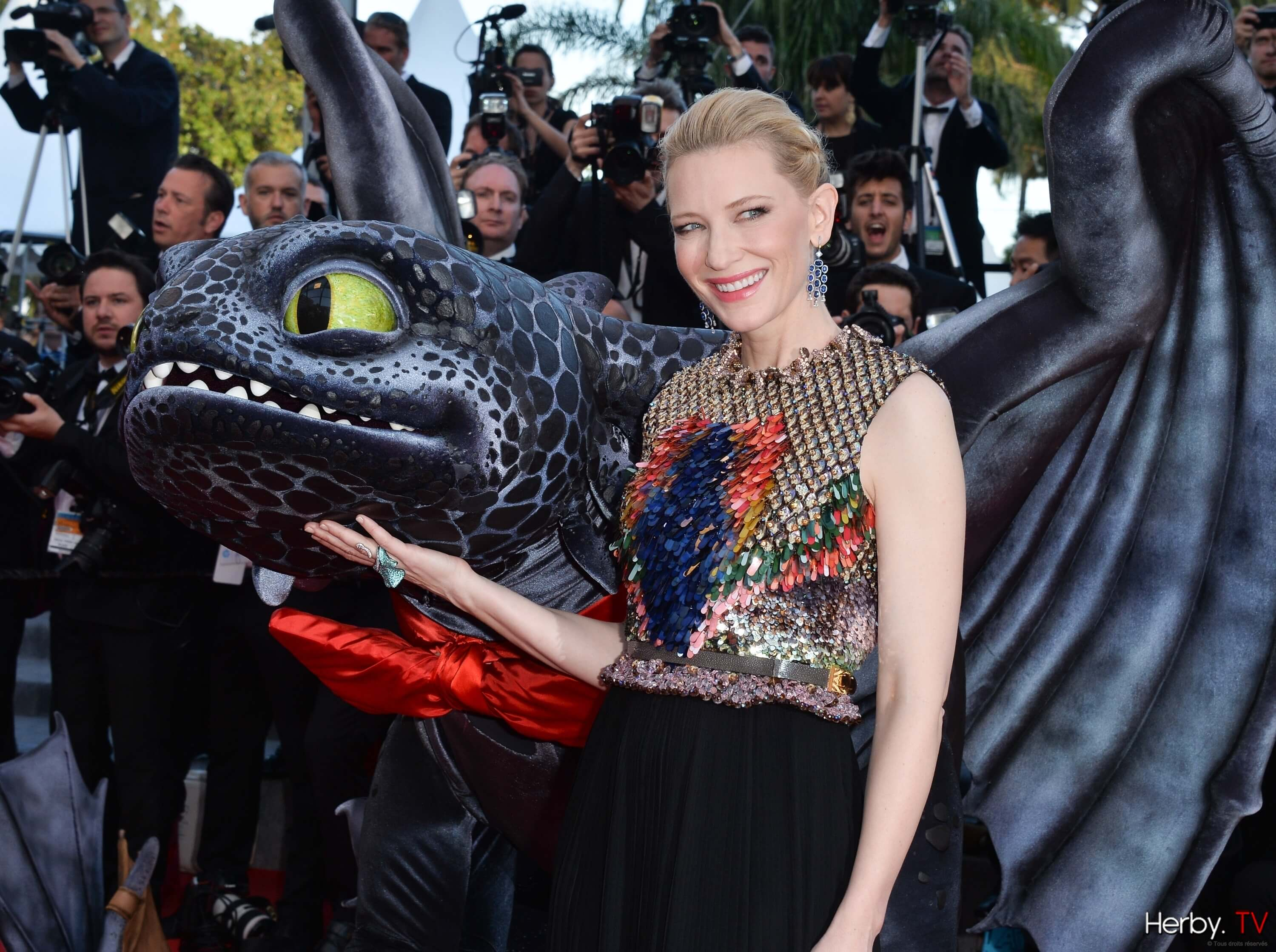 Festival de Cannes, jour 3: Première de How To Train Your Dragon 2
