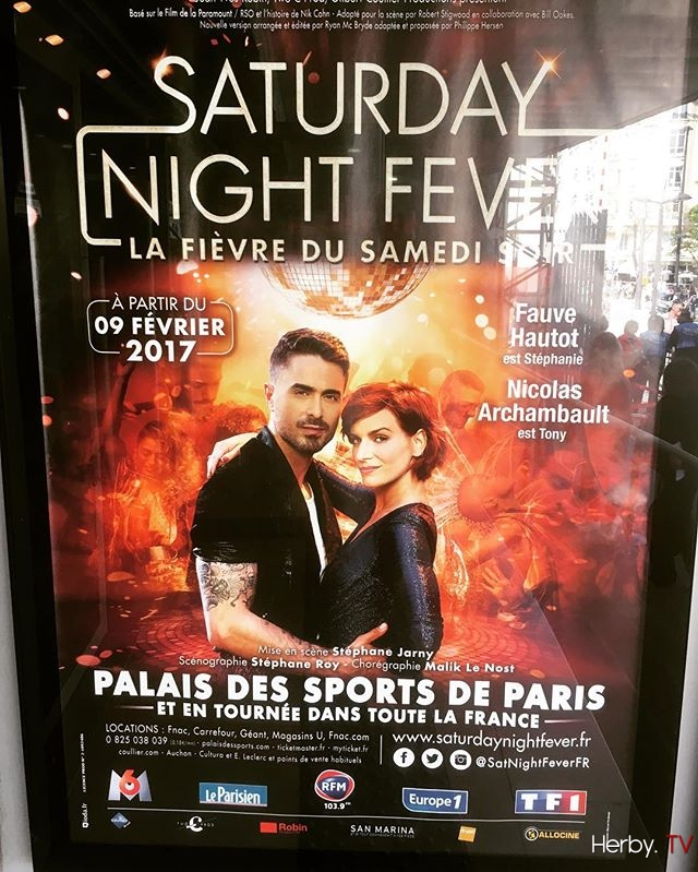 Samedi soir en mode Disco avec @nicoarchambault #Now Paris #saturdaynightfever