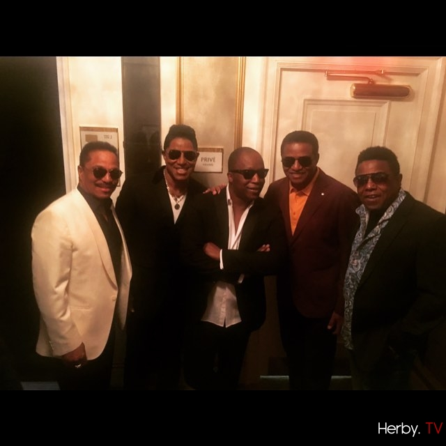 Back in town and back to 5 ! #thejacksons
