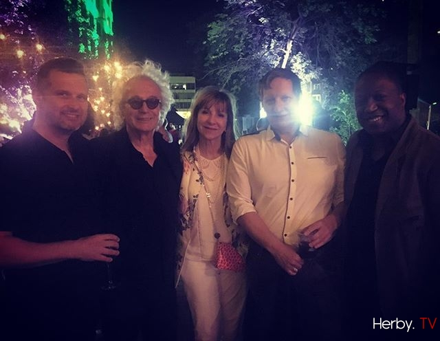 Emile, Luc, Denise, Robert et Herby #aboutlastnight #afterparty #DePereEnFlic2