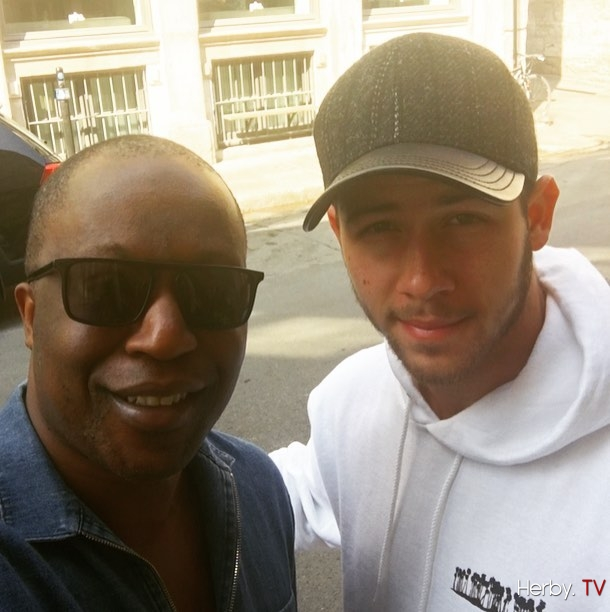 Saturday afternoon with @nickjonas in old montreal . #goodtime